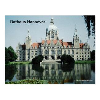 Rathaus Hannover Postcard