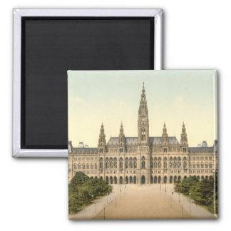 Rathaus, Vienna, Austria Square Magnet