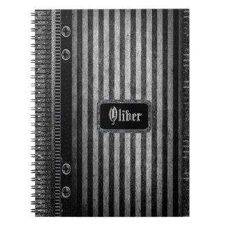 Rathbone Victorian Stripe Note Book