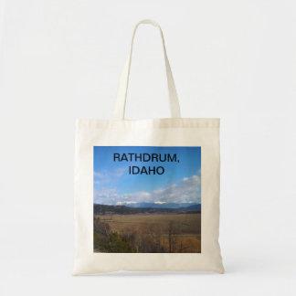 Rathdrum Idaho Tote Bag