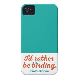 Rather be Birding iPhone 4 Case