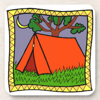 Rather be Camping Design  coasters