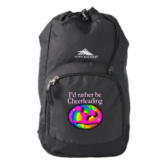 RATHER BE CHEERLEADING BACKPACK