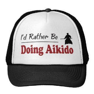 Rather Be Doing Aikido Cap