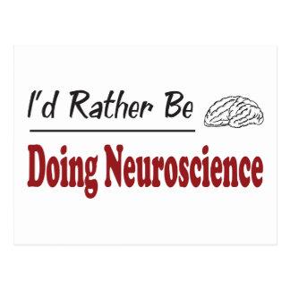 Rather Be Doing Neuroscience Postcard