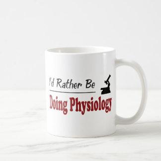 Rather Be Doing Physiology Mug