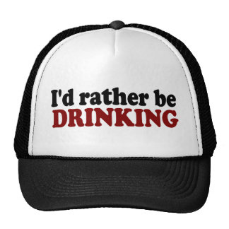Rather Be Drinking Cap