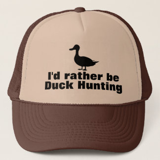 Rather be Duck Hunting Trucker Hat