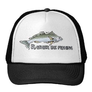 Rather Be Fishing Cap