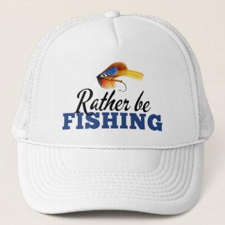 Rather Be Fishing Custom Trucker Hat
