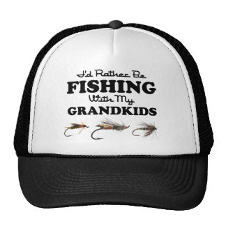 Rather Be Fishing Grandkids Cap