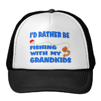 Rather Be Fishing With Grandkids Cap