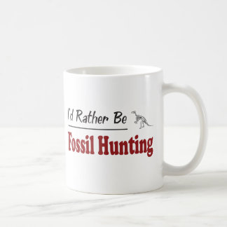 Rather Be Fossil Hunting Coffee Mug