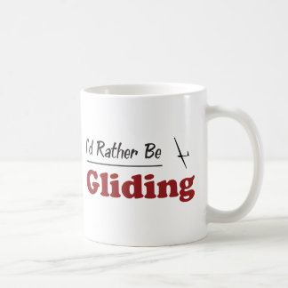 Rather Be Gliding Basic White Mug