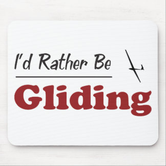 Rather Be Gliding Mouse Pad
