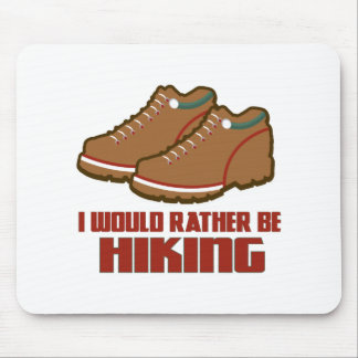 Rather Be Hiking Mousepads