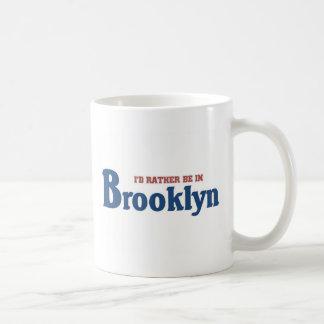 Rather be in brooklyn coffee mug