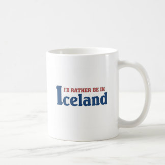 Rather be in Iceland Coffee Mug