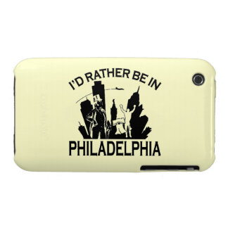 Rather be in Philadelphia iPhone 3/3gs Case Case-Mate iPhone 3 Cases