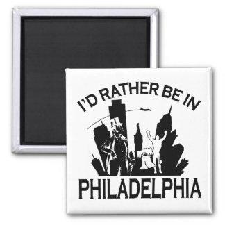 Rather be in Philadelphia Magnet