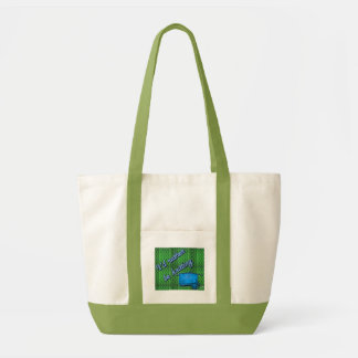 Rather Be Knitting Impulse Tote Bag