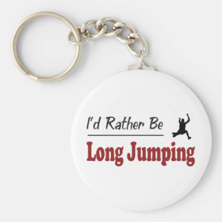 Rather Be Long Jumping Key Ring