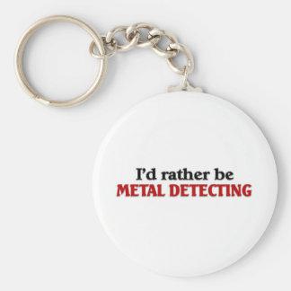 Rather be Metal Detecting Key Ring