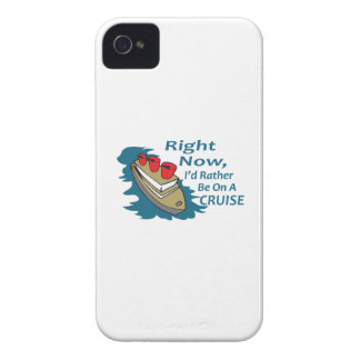 RATHER BE ON A CRUISE iPhone 4 Case-Mate CASE