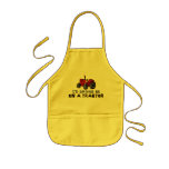 Rather Be On A Tractor Kids Apron