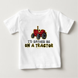 Rather Be On A Tractor Tshirt