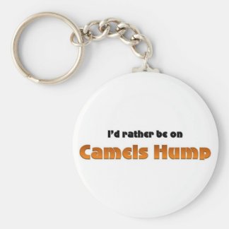 Rather be on Camels Hump Basic Round Button Key Ring