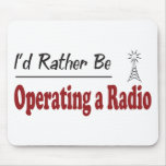 Rather Be Operating a Radio Mouse Mat
