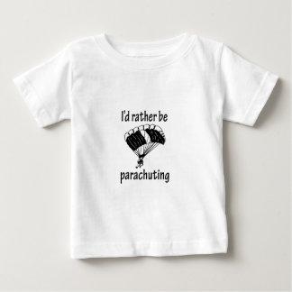 Rather Be Parachuting Baby T-Shirt