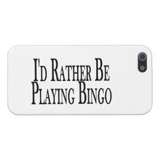 rather Be Playing Bingo iPhone 5 Covers