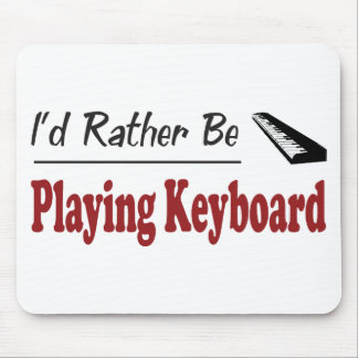 Rather Be Playing Keyboard Mouse Mat
