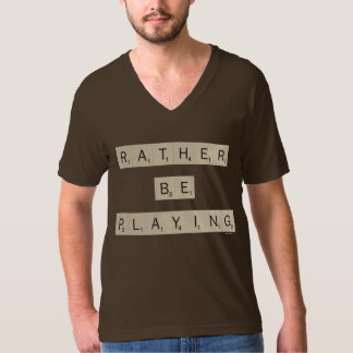Rather Be Playing - tiles T-Shirt