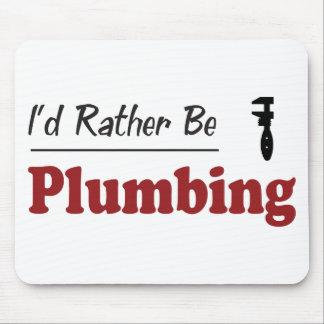 Rather Be Plumbing Mouse Mat