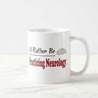 Rather Be Practicing Neurology Coffee Mug