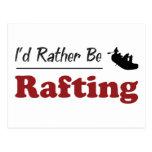 Rather Be Rafting Postcard