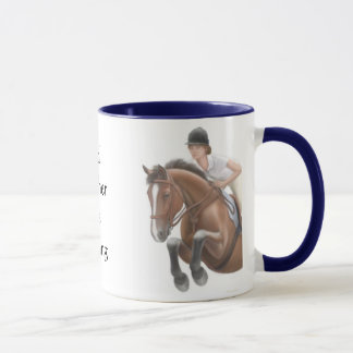 Rather be Riding Horse Mug