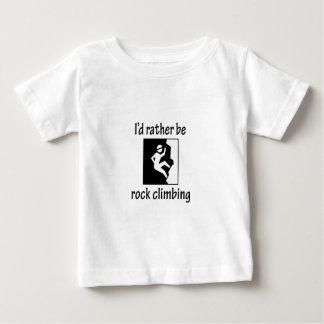 Rather Be Rock Climbing Baby T-Shirt