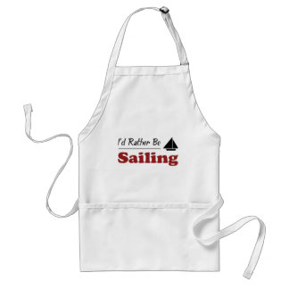 Rather Be Sailing Standard Apron