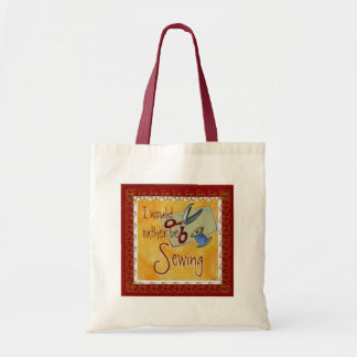 Rather be Sewing Tote Bag