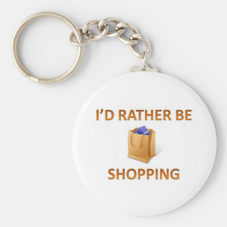 Rather be shopping key chains