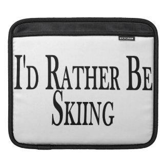 Rather Be Skiing iPad Sleeve
