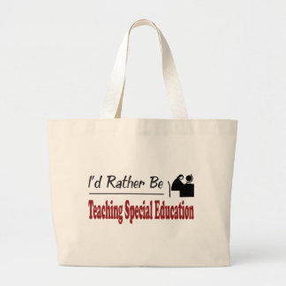 Rather Be Teaching Special Education Tote Bag