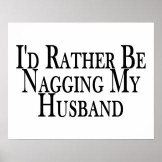 Rather Nag Husband Poster