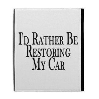 Rather Restore Car iPad Case