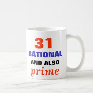 Rational and Also Prime Coffee Mug