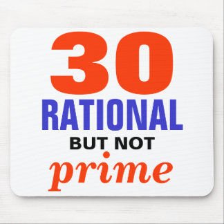 Rational But Not Prime Mouse Pad